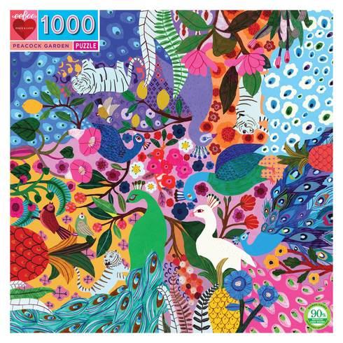 Puzzle Peacock Garden 1.000 piezas