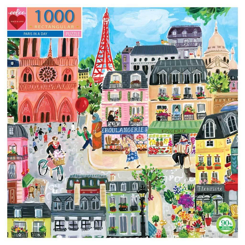 Puzzle Paris 1.000 piezas
