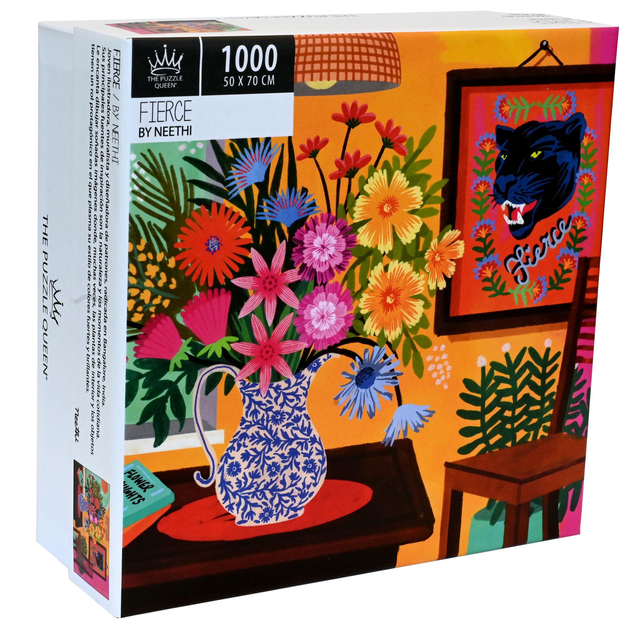 Puzzle Fierce 1.000 piezas