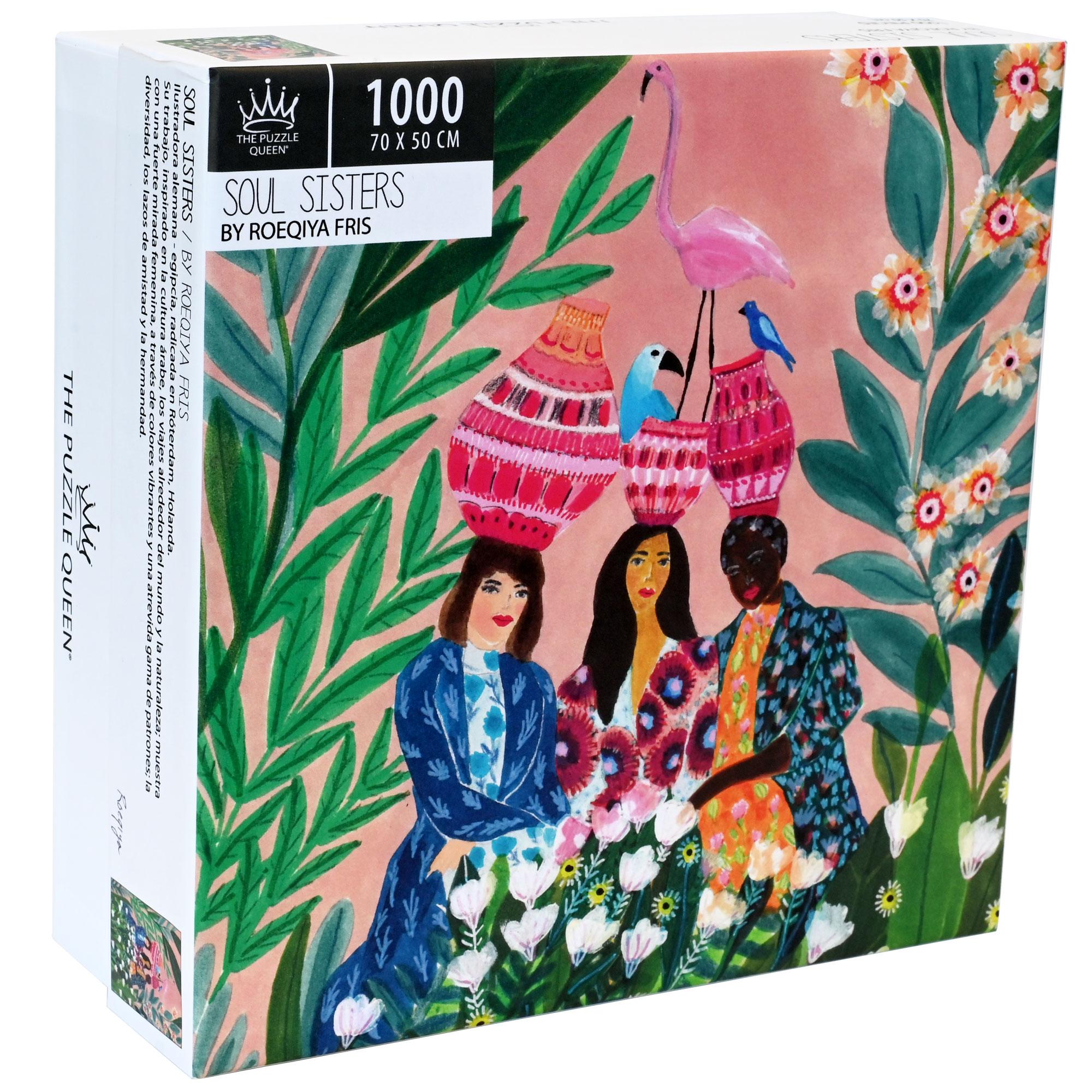 Puzzle Soul Sisters 1.000 piezas