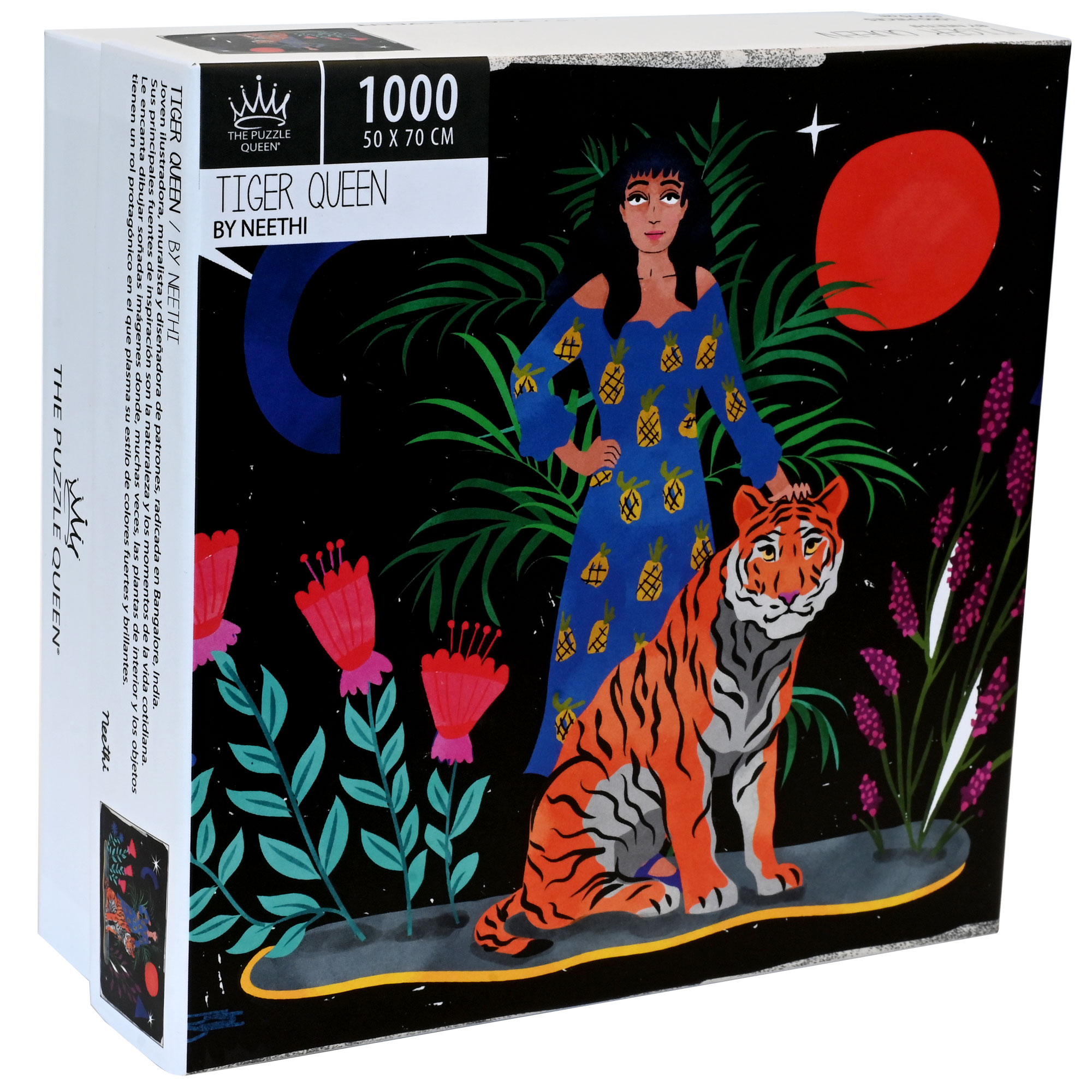 Puzzle Tiger Queen 1.000 piezas