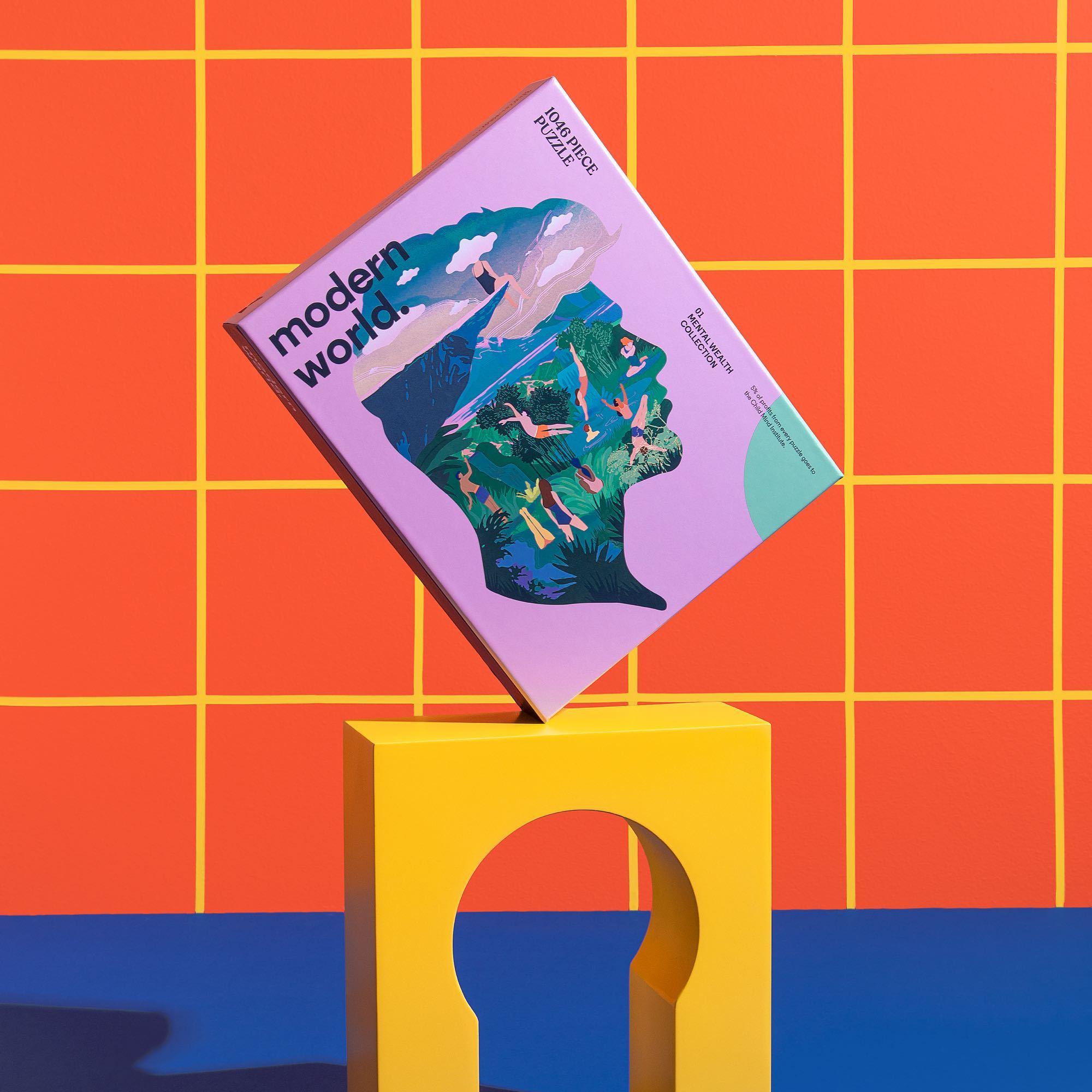 Puzzle Dreamer Mental Wealth con forma 1.046 piezas