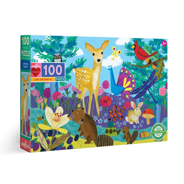 Puzzle infantil Life on Earth 100 piezas