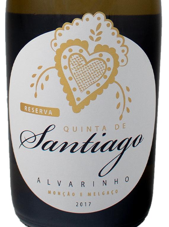 Quinta de Santiago Alvarinho Reserva 2017