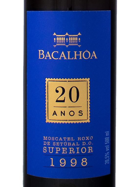 Bacalhôa Moscatel Roxo de Setúbal Superior 1998