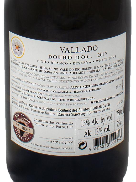 Vallado Reserva 2017