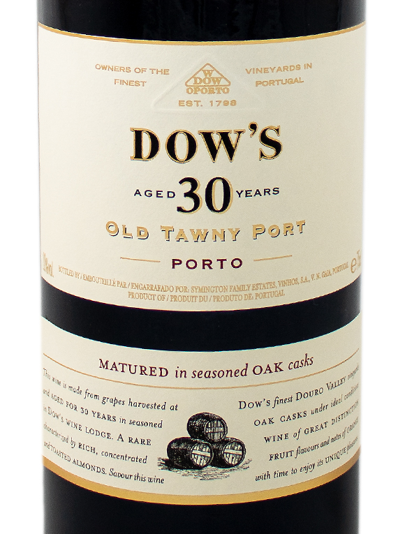 Dow's Tawny 30 Years Old Port