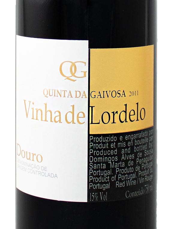 Quinta da Gaivosa Vinha de Lordelo 2011