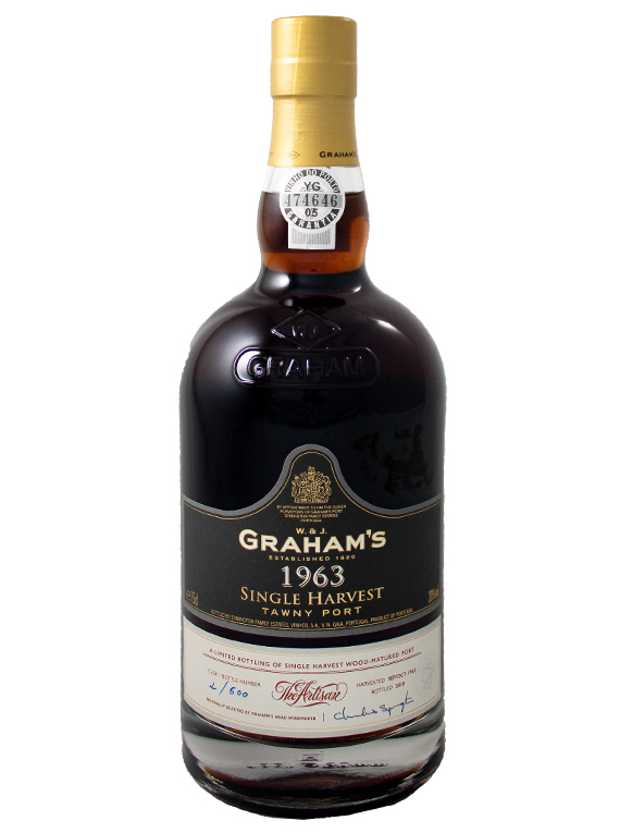 Graham's Single Harvest Tawny Port 1963