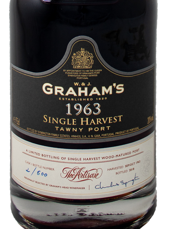Graham's Single Harvest Tawny 1963