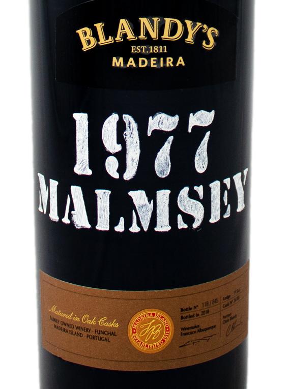 Blandy's Malmsey Colheita 1977