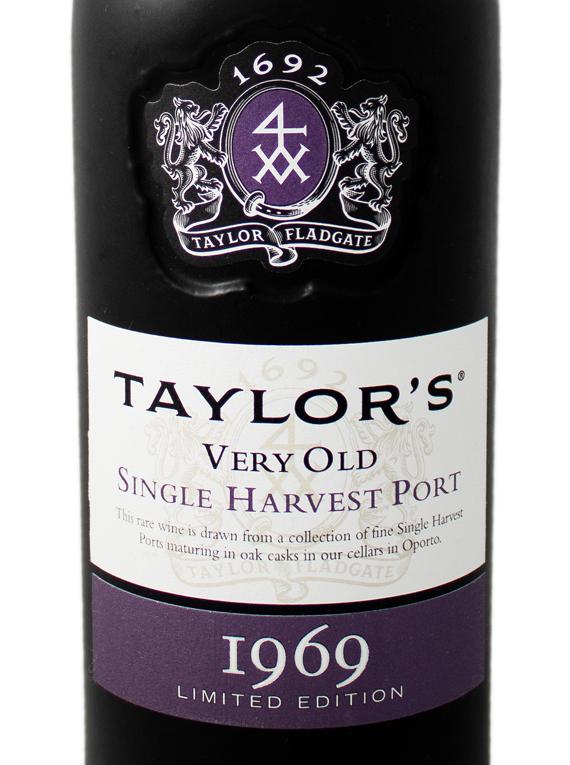 Taylor's Single Harvest 1969 Port
