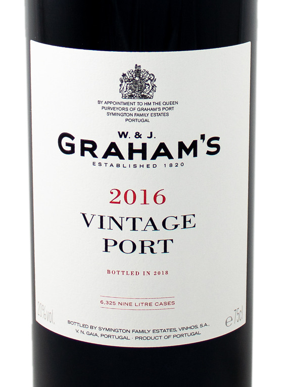 Graham's Stone Terraces 2016 Vintage Port