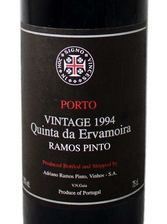 Ramos Pinto Quinta da Ervamoira Vintage Port 1994