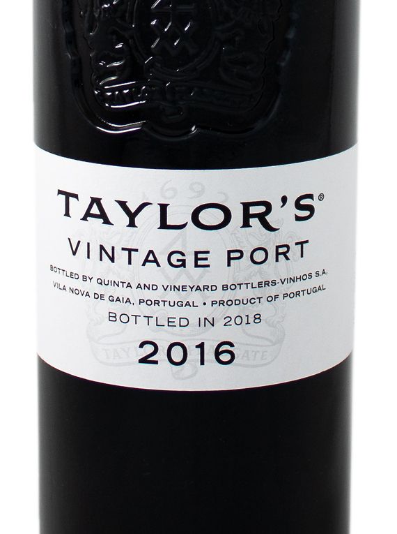 Taylor's Vintage Port 2016