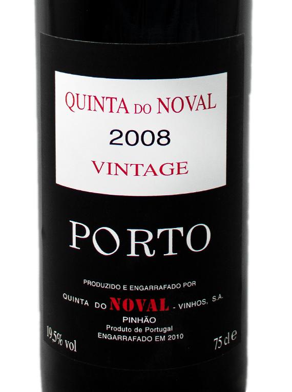 Quinta do Noval Vintage Port 2008