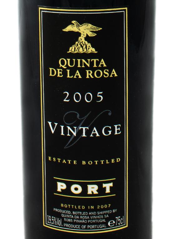 Quinta de la Rosa Vintage Port 2005