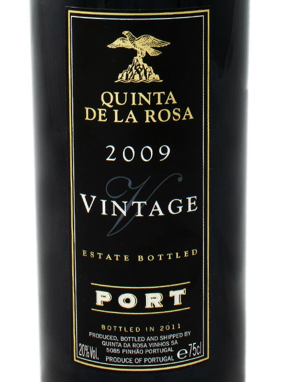Quinta de la Rosa Vintage Port 2009