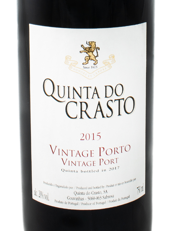 Quinta do Crasto Vintage Port 2015