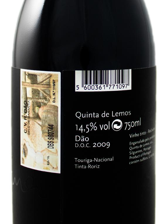 Quinta de Lemos Dona Georgina 2009