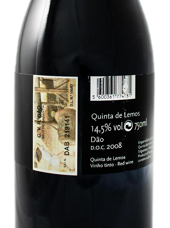 Quinta de Lemos Tinta Roriz 2008