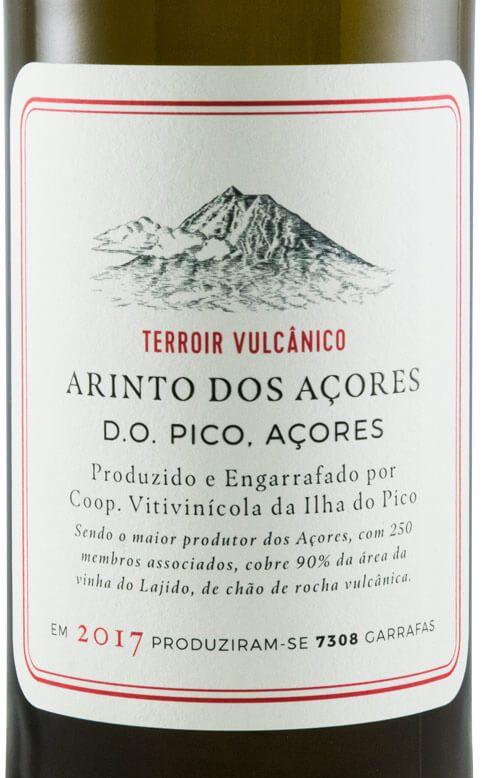 Ilha do Pico Terroir Vulcânico Arinto dos Açores 2017