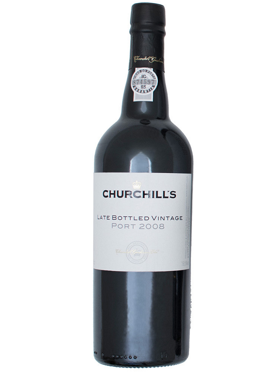 Churchill´s Late Bottled Vintage Unfiltered 2008