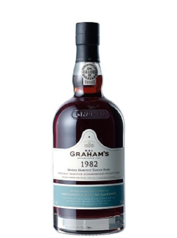 Graham's Commemorative Bottle Colheita 1982