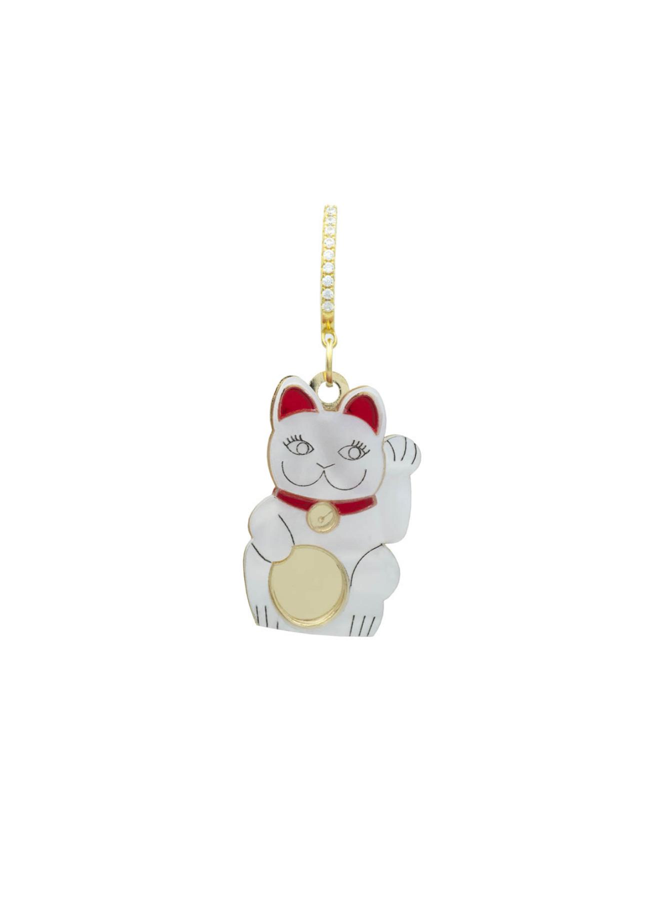 KIWI+POMELO | Lucky White Cat