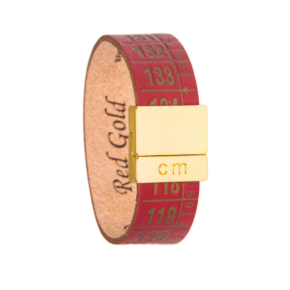 IL CENTIMETRO | PULSERA RED GOLD