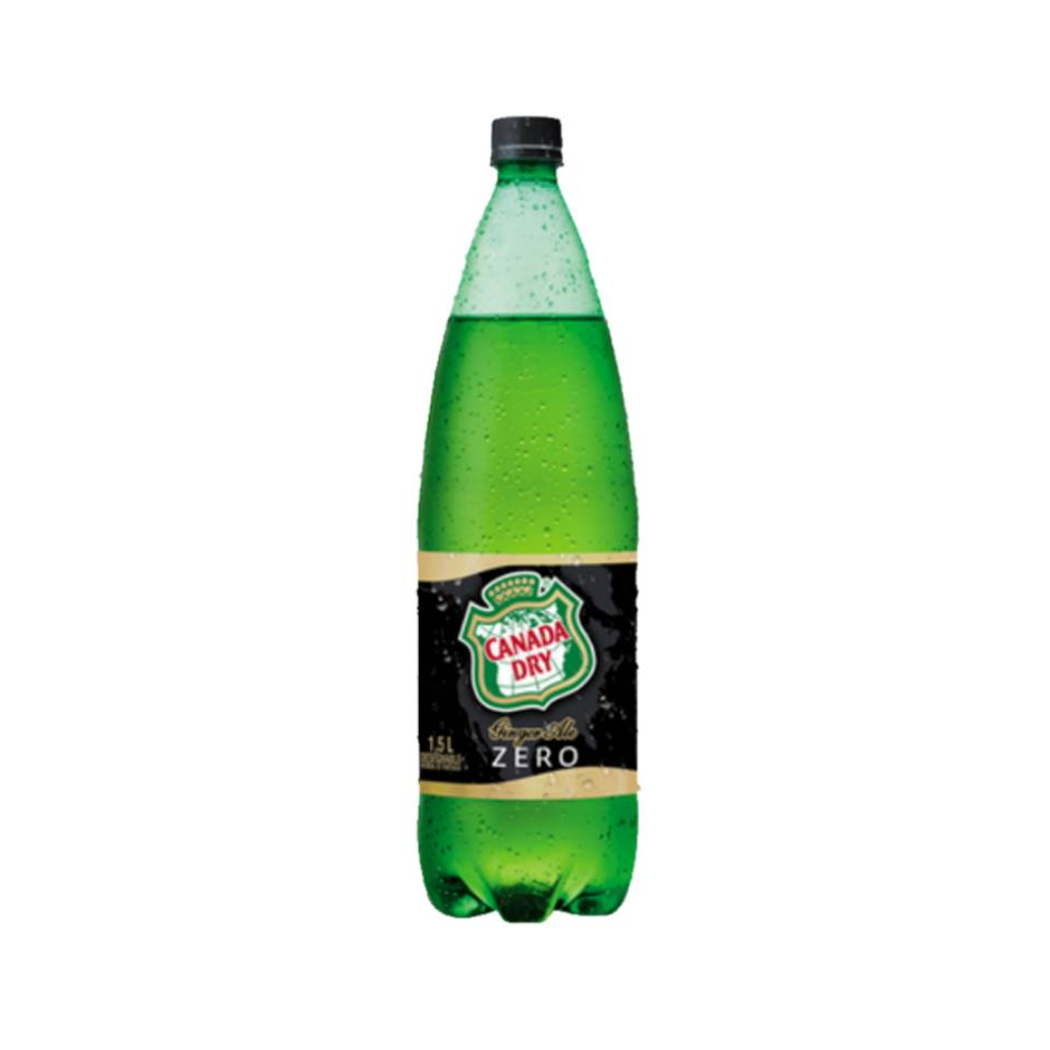 Canada Dry 1,5 lts (Normal, Zero)