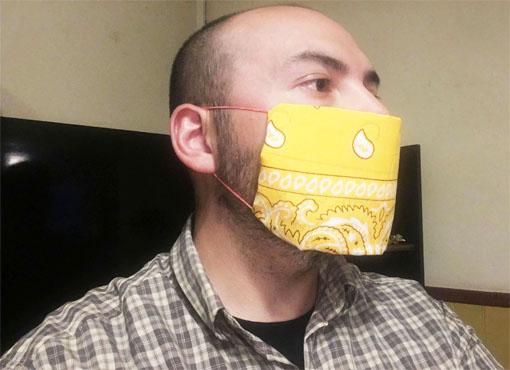 Tutorial: ¿Cómo hacer una mascarilla con una Bandana?