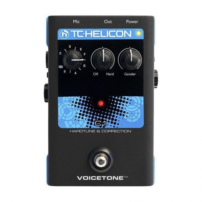 VOICETONE C1   Pedal Procesador De Efectos Vocales TC Helicon