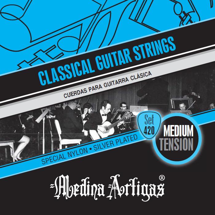 Medina Artigas 420, Cuerdas de nylon