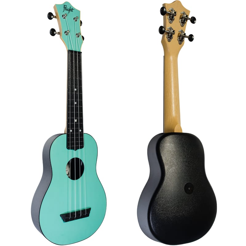 Ukelele Flight TRAVEL Light Blue