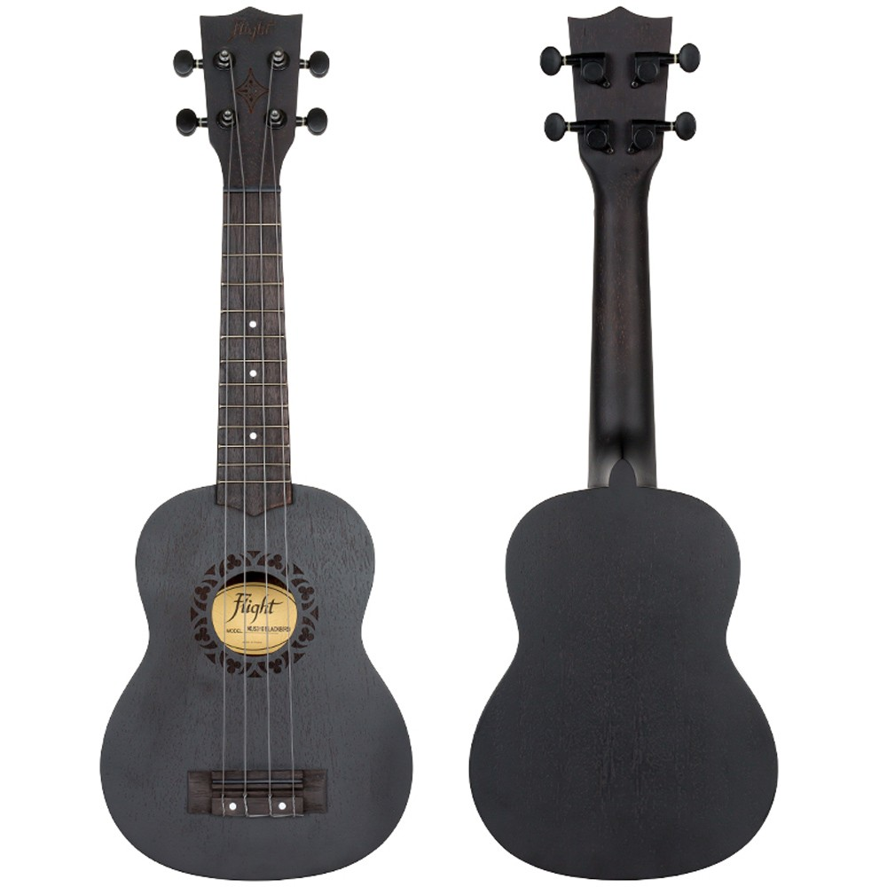 Ukelele Flight soprano BLACKBIRD