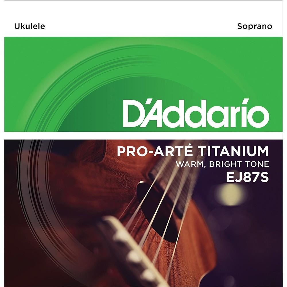 Cuerdas de Ukelele (Soprano) Titanium DADDARIO