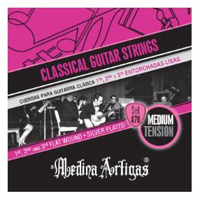 Medina Artigas 470, Cuerdas de nylon