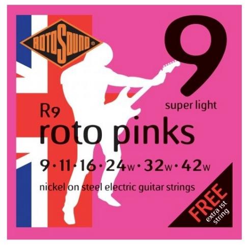 Cuerda Guitarra Electrica RotoSound 7 cuerdas: R9-7