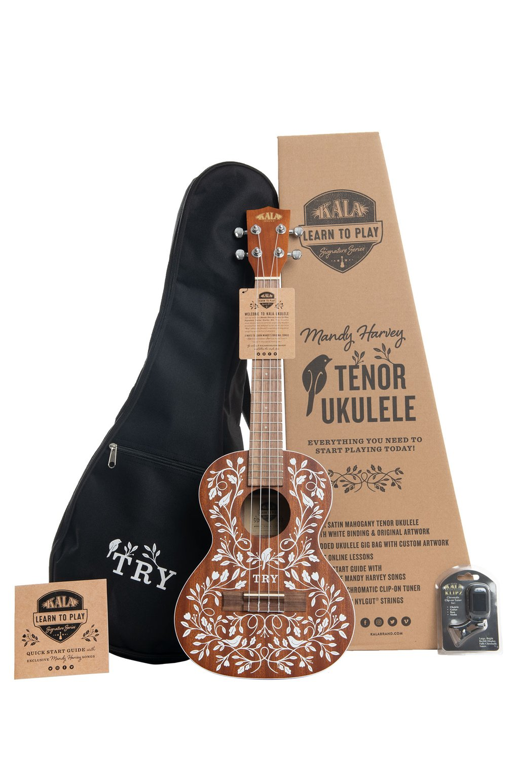 Ukelele Kala Tenor Signature Mandy Harvey