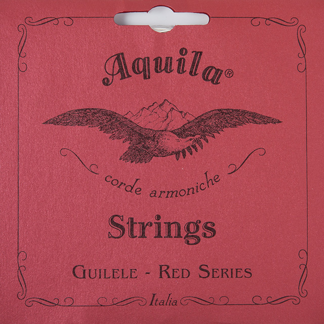 SET CUERDAS GUITARLELE GUITARRA MI ESTANDAR AQUILA RED SERIES 153C