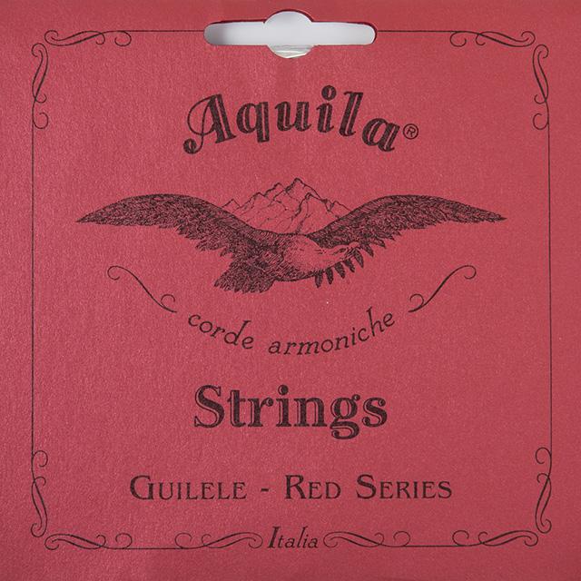 SET CUERDAS GUITARLELE GUITARRA MI ESTANDAR AQUILA RED SERIES 153C