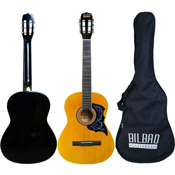 Guitarra Acústica Bilbao cuerda Metálica BIL-39DS-NT