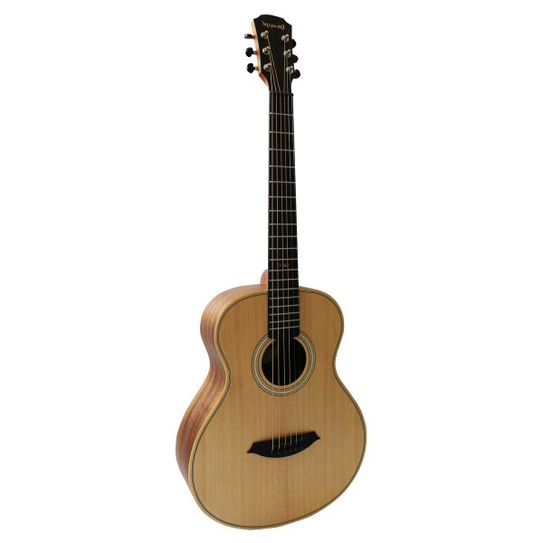 Guitarra Travel Mahori Solid Koa Electroacústica + Funda