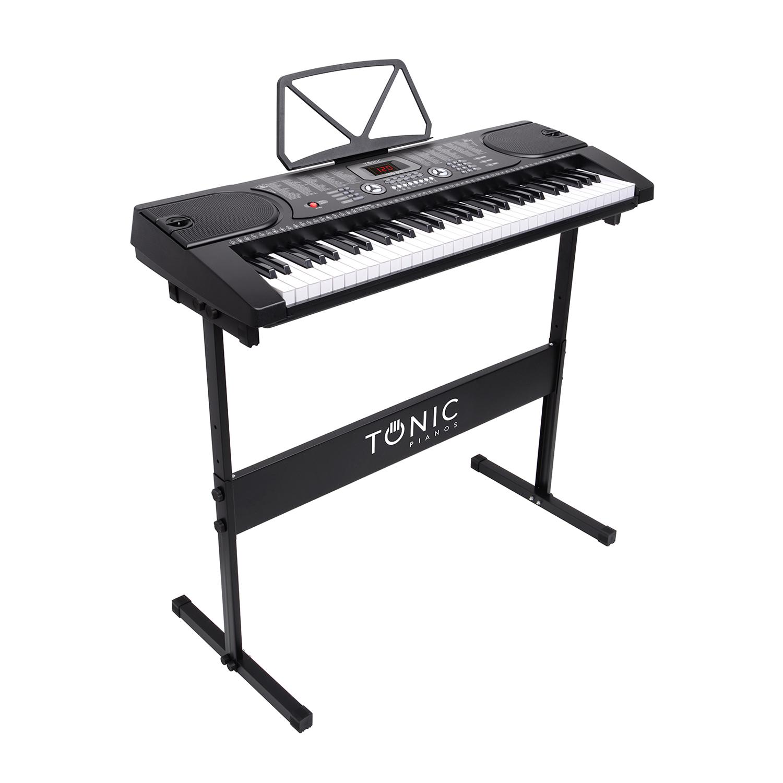 Teclado 61 notas TON-600 PACK TONIC + STAND