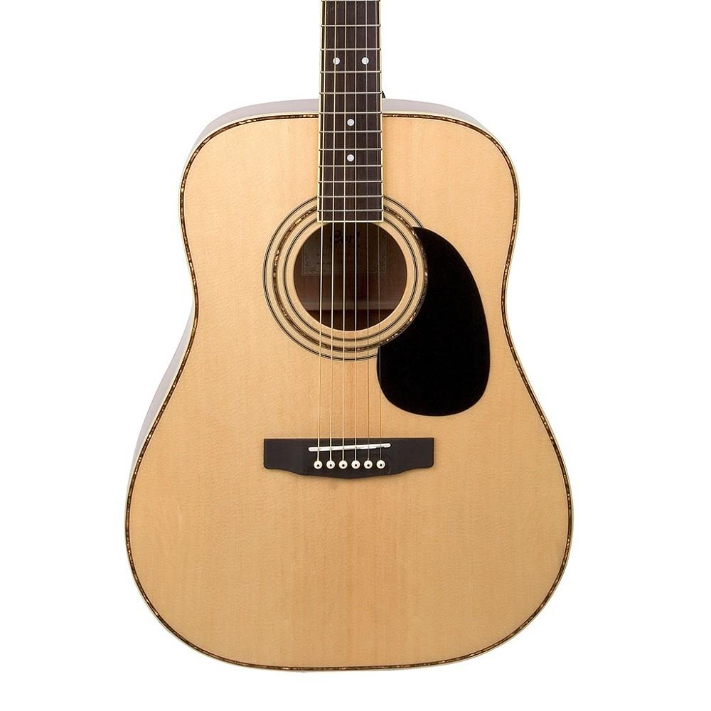 Guitarra Acústica Dreadnought Natural Satin CORT AD880-NS