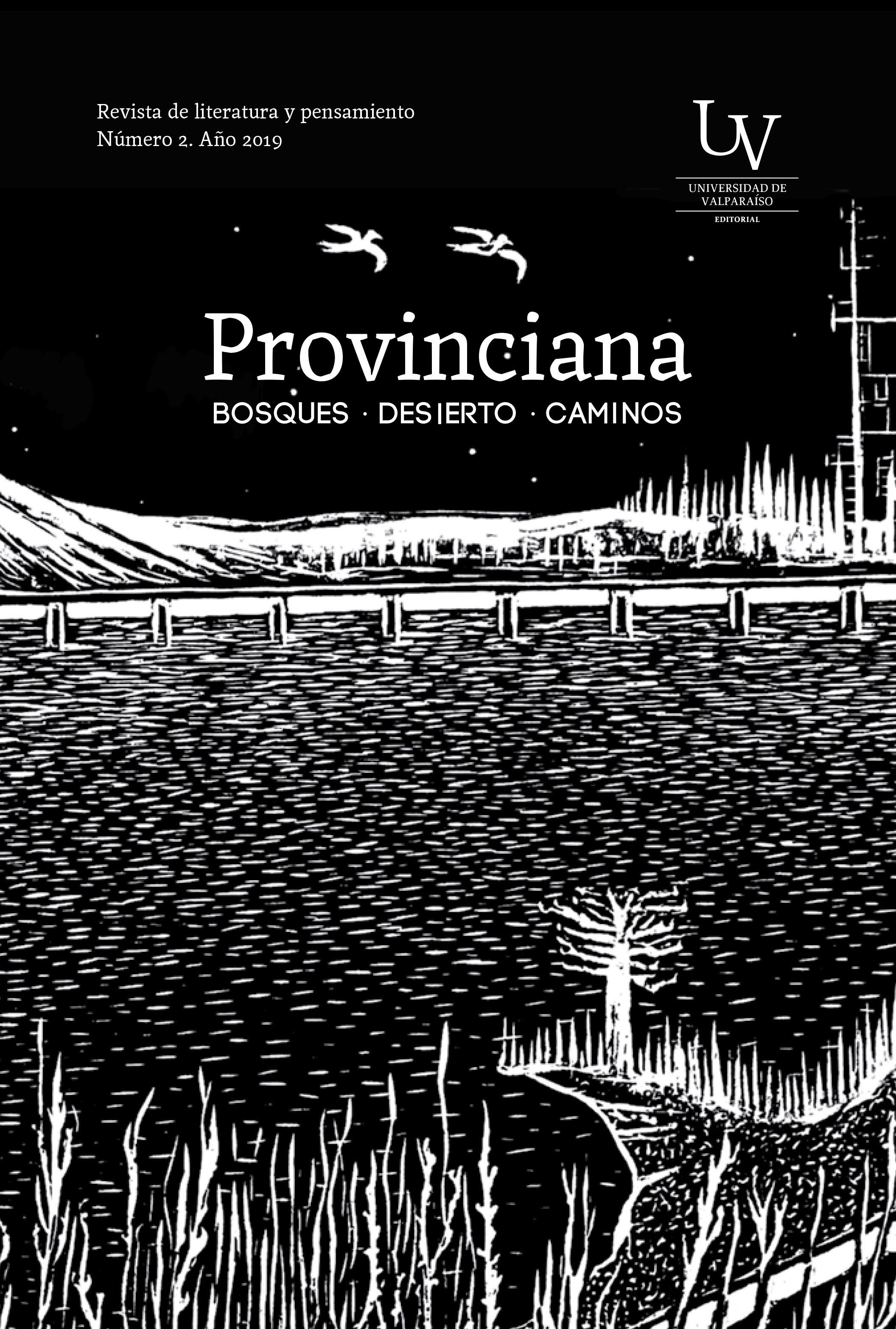 Provinciana N°2. Revista de literatura y pensamiento. Año 2019