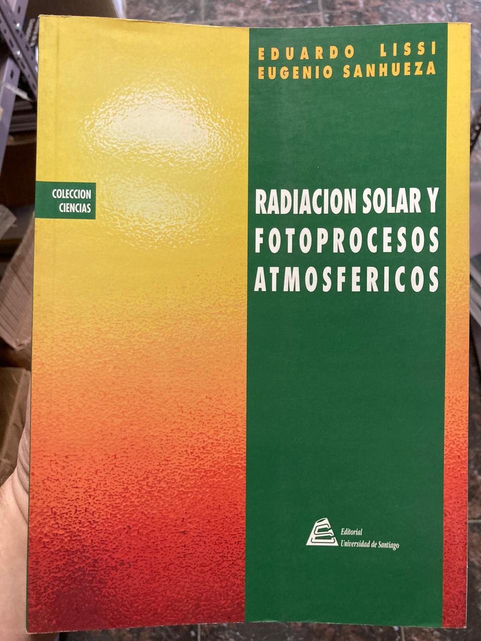 Radiación solar y fotoprocesos atmosféricos