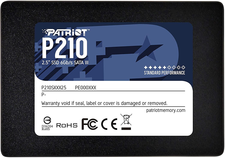 SOLIDO SATA (SSD) 512GB - PATRIOT P210