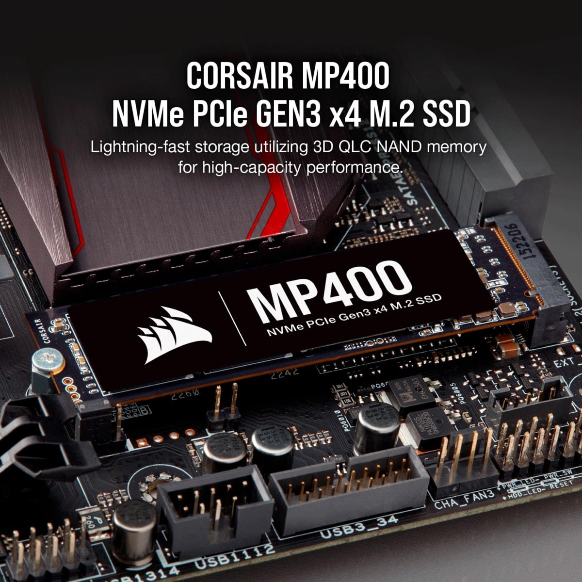 SOLIDO (M2) NVMe 1TB MP400 - CORSAIR
